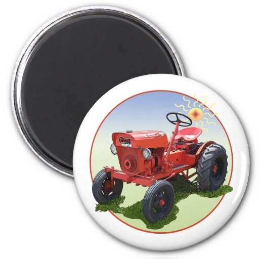 The Economy Tractor Fridge Magnet