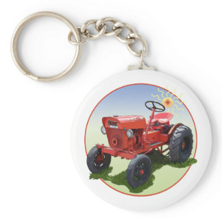 The Economy Tractor Keychain