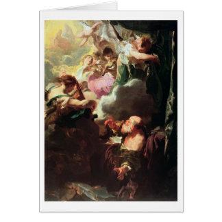 The Ecstasy of St. Paul, c.1628-29 (oil on canvas) Card