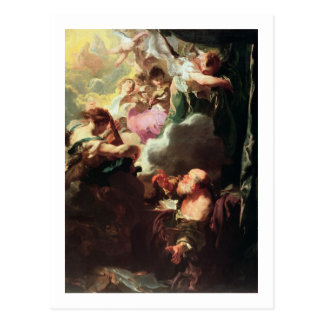 The Ecstasy of St. Paul, c.1628-29 (oil on canvas) Postcard