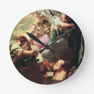 The Ecstasy of St. Paul, c.1628-29 (oil on canvas) Round Clock