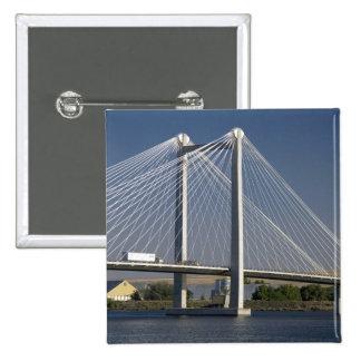 The Ed Hendler Bridge spans the Columbia River Button
