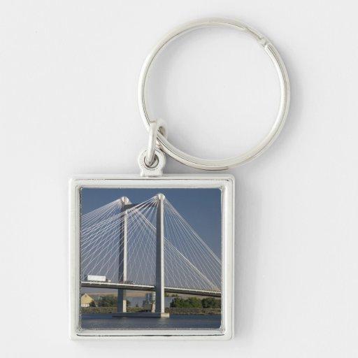 The Ed Hendler Bridge spans the Columbia River Keychains