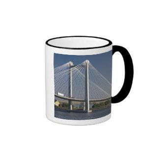 The Ed Hendler Bridge spans the Columbia River Ringer Mug