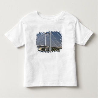 The Ed Hendler Bridge spans the Columbia River Toddler T-shirt