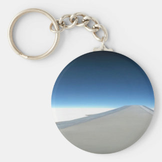 The Edge of Heaven Basic Round Button Keychain