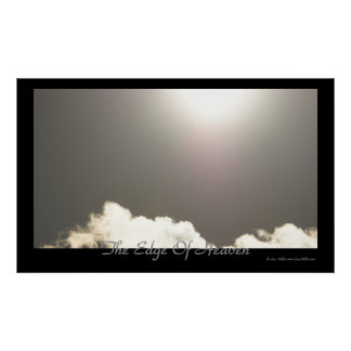 The Edge Of Heaven Skyscape Clouds Posters