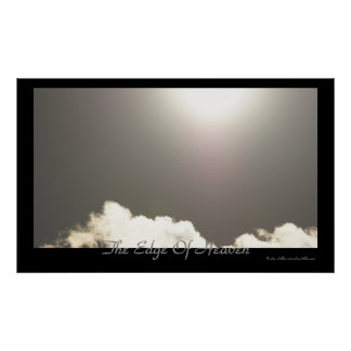 The Edge Of Heaven Skyscape Poster
