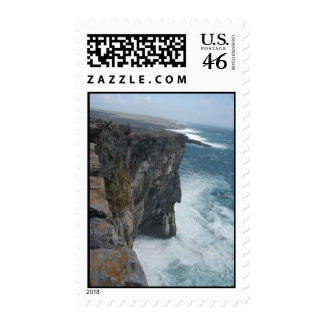 The Edge of Inis Mor Stamp