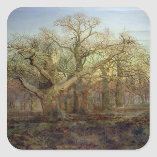 The Edge of Sherwood Forest, 1878 Square Sticker