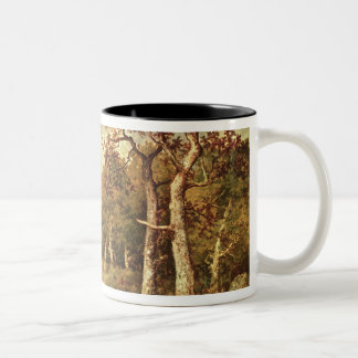 The Edge of the Forest, 1871 Two-Tone Coffee Mug
