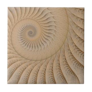 The Edge of the Sea Ceramic Tile