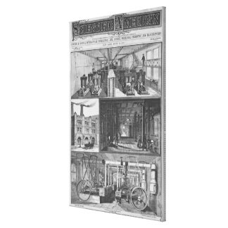 The Edison Electric Illuminating Co's Station Canvas Print