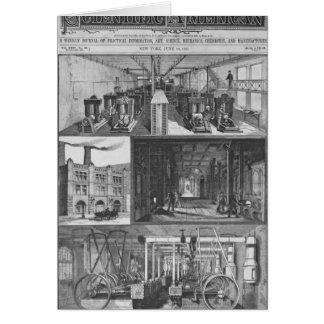 The Edison Electric Illuminating Co's Station Greeting Card