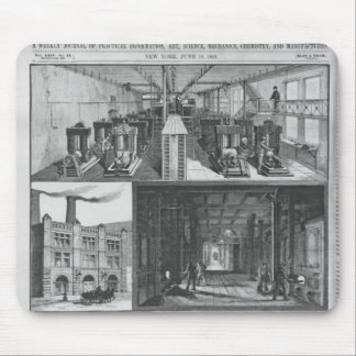 The Edison Electric Illuminating Co's Station Mousepads