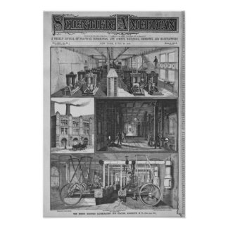 The Edison Electric Illuminating Co's Station Poster
