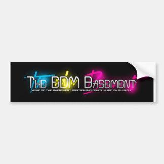 The EDM Basement Bumper Sticker