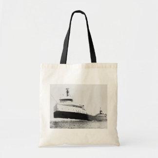 The Edmund Fitzgerald Budget Tote Bag