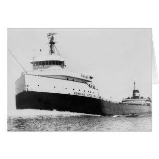 The Edmund Fitzgerald Greeting Card