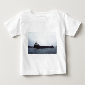 The Edmund Fitzgerald on the St. Clair River Baby T-Shirt