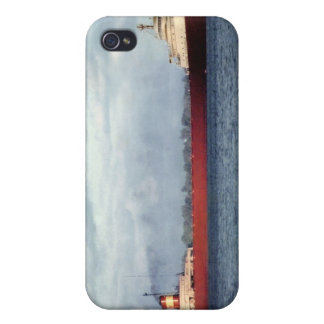 The Edmund Fitzgerald on the St. Clair River Covers For iPhone 4