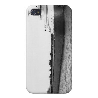 The Edmund Fitzgerald on the St. Clair River Cases For iPhone 4