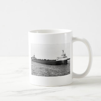 The Edmund Fitzgerald on the St. Clair River Classic White Coffee Mug