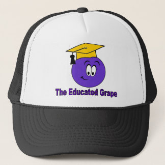 The Educated Grape Trucker Hat