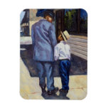 The Education of a King 2001 Rectangular Photo Magnet