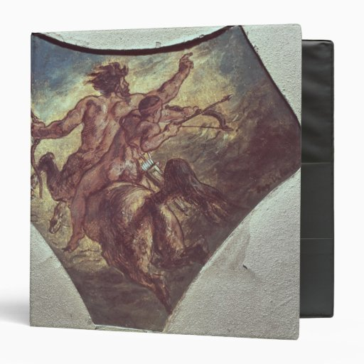 The Education of Achilles Vinyl Binders