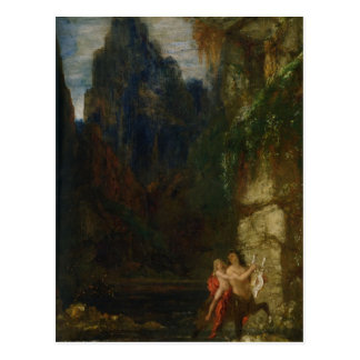 The Education of Achilles by Gustave Moreau Postcard
