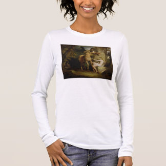 The Education of Achilles, c.1772 (oil on canvas) Long Sleeve T-Shirt