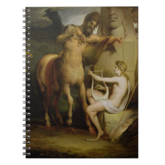 The Education of Achilles, c.1772 (oil on canvas) Notebook