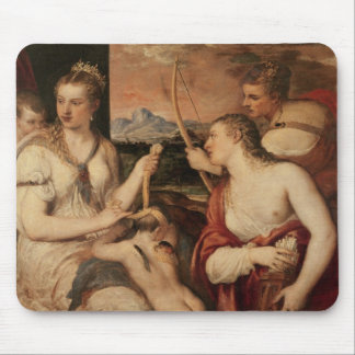 The Education of Cupid, c.1565 Mouse Pad