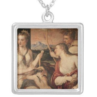 The Education of Cupid, c.1565 Pendants
