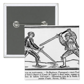 The Education of Pantagruel, illustration Buttons