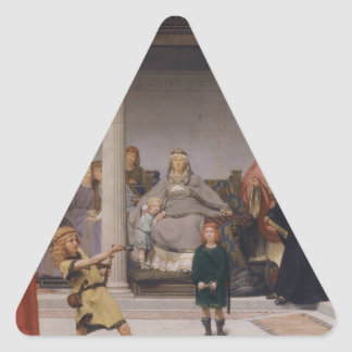 The Education of the Children of Clovis Triangle Sticker