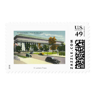 The Educational Bldg, Capitol Hill # 2 Postage Stamp