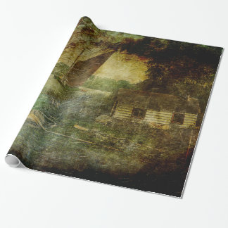 The Eel Fisher's Hut Wrapping Paper