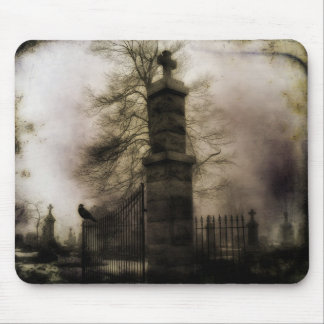 The Eerie Gate Mouse Pad