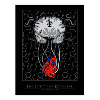 The Effects of Dopamine - Postcard