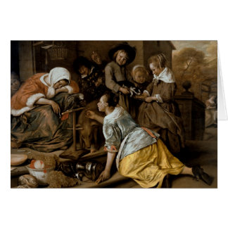 The Effects of Intemperance, c.1663-65 Card