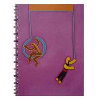 The Effortless Dance 2007 Spiral Notebook