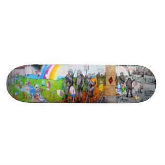 The Egg Beaters - Street Sk8 Art Custom Skate Board