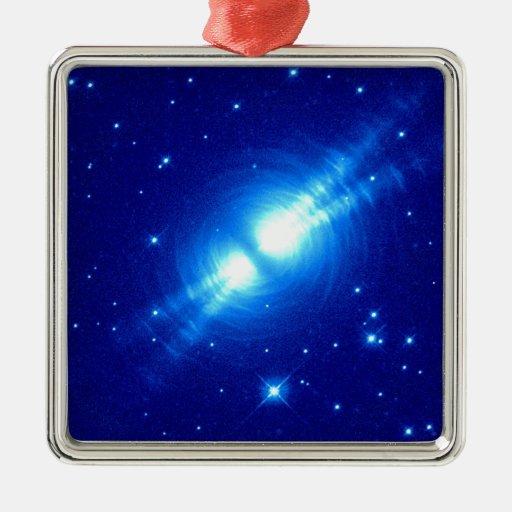 The Egg Nebula Christmas Tree Ornaments