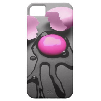 The egg of the pink which cracks* Humor fully iPhone SE/5/5s Case