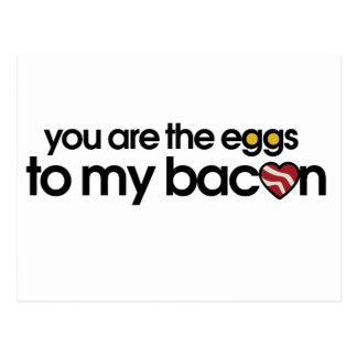 The eggs to my Bacon Postcard