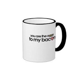 The eggs to my Bacon Ringer Coffee Mug