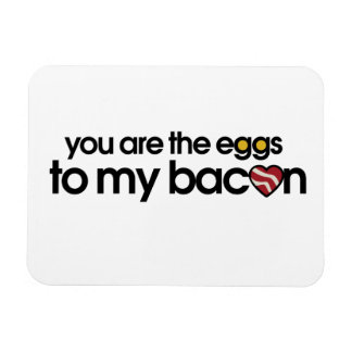 The eggs to my Bacon Vinyl Magnet