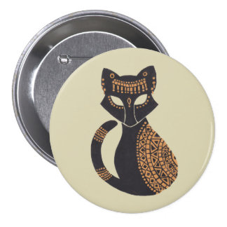 The Egyptian Cat Pinback Button